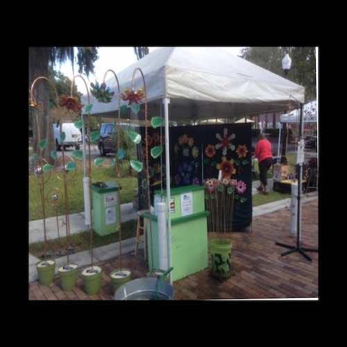Alan Leising 2020 corn hill arts festival 4 artist 9312