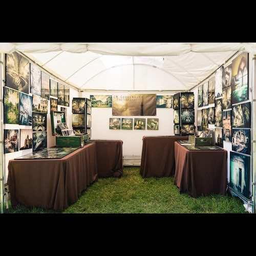 Chris Goodenbury 2020 corn hill arts festival 4 artist 177928