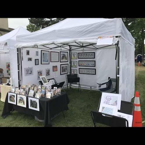 David Zimmerman 2020 corn hill arts festival 4 artist 240193