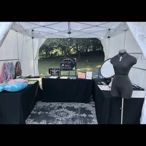 Destiny Perez 2020 corn hill arts festival 4 artist 212642