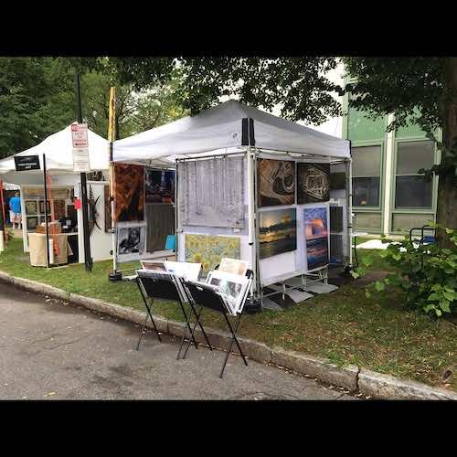 Glen Klein 2020 corn hill arts festival 4 artist 171626
