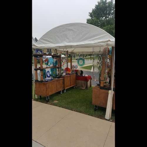 Kathryn Woodruff 2020 corn hill arts festival 4 artist 231252