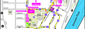 Corn Hill Arts Festival Map and Directions