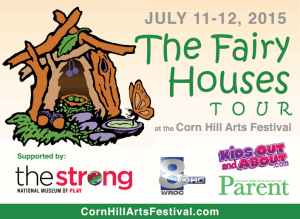 The Fairy Houses Tour - Corn Hill Arts Festival