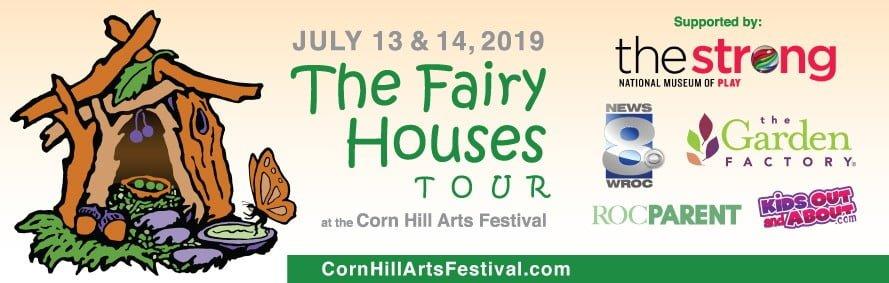 Corn Hill Arts Festival Fairy Houses