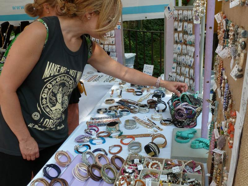 Jewelry Corn Hill Arts Festival
