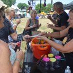 Wine Tasting Corn Hill Arts Festival