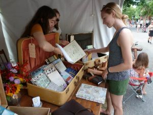 Emerging Artists at the Corn Hill Arts Festival