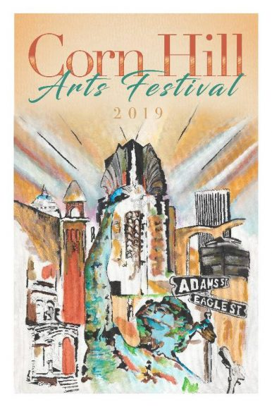 Corn Hill Arts Festival 2019 Poster