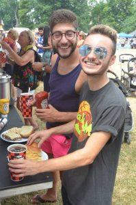 Food Trucks at the Corn Hill Arts Festival