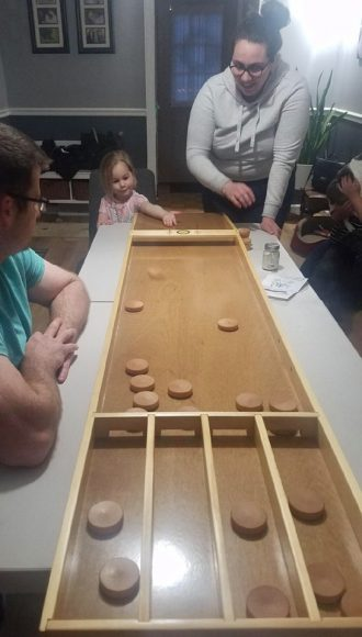 Rochester Sjoelen Club Game Board