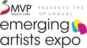 The 12th Annual Emerging Artist Expo presented by MVP Health Care.