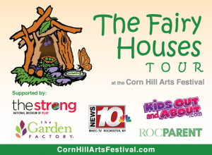 The Fairy Houses Tour at the Corn Hill Arts Festival