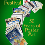 Corn Hill Arts Festival - 50 Years of Poster Art by Rob Goodling